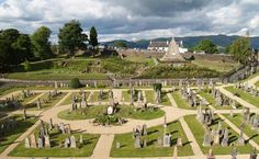 Old Town Cemetery in Stirling Scotland ( Scotland's first capital)
