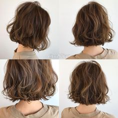 Japanese hairstyle design has always had its characteristics. So today we have collected 65 kinds of Japanese Messy short hairstyles idea. Let's look for amazing hair inspiration. Medium Short Hair, Short Wavy Hair, Medium Hair Styles, Curly Hair Styles, Cool Short Hairstyles, Permed Hairstyles, Japanese Hairstyle, Love Hair, Hair Inspiration