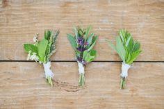 herb infused styled wedding -
