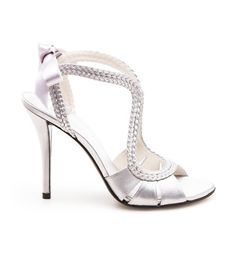 SWEEPSTAKES | Stuart Weitzman #alittleobsessedwithshoes #silver #shoes #pumps #weddingshoes