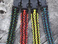 Geknüpftes Leder Dyneema Armband für von AlpineLeatherworx auf Etsy