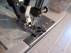 Sew, Mama, Sew!  I need to remember this site when I'm trying to figure out the best foot for the project I'm working on.  This site has sewing tutorials and all types of helpful information.