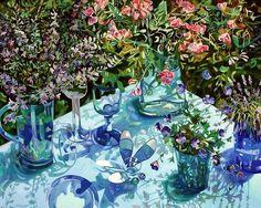Gina Blickenstaff (American, 20th century) «Blue»