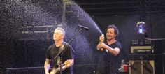 Eddie-Mike champagne shower, celebrating 24 years together!!  it was a ridiculously great show,denver 10/22/14 :)