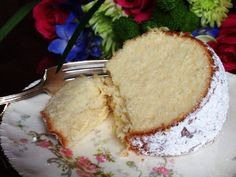 Hot Milk Cake, a delicious vintage recipe from my grandmother.