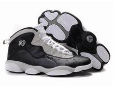 Chaussures Air Jordan 10+13 Blanc/ Noir [nike_10014] - €55.85 : Nike Chaussure Pas Cher,Nike Blazer and Timerland https://www.facebook.com/pages/Chaussures-nike-originaux/376807589058057