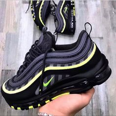 Nike airmax 97 ___________________ Comment in below - Women Trends Air Max 97, Cute Sneakers, Shoes Sneakers, Sneakers Women, Black Sneakers, Shoes Men, Women's Shoes, Souliers Nike, Sneakers Fashion