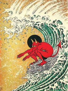 Don Ed Hardy - Cover art for Juxtapoz Art & Culture Magazine - June 2011 Pop Art, Don Ed Hardy, Japon Illustration, Japanese Illustration, Botanical Illustration, Arte Obscura, Art Japonais, Surf Art, Arte Pop