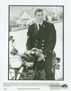 An Officer and a Gentleman - Publicity still of Richard Gere. The image measures 2143 * 2750 pixels and was added on 30 June An Officer And A Gentleman, Richard Gere, Love At First Sight, Old Movies, Man Crush, Movie Tv, Royalty, Films, Cinema