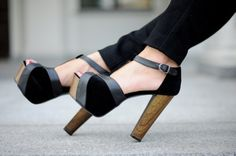 Knock on Wood - lovee these shoes