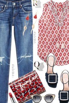 Love+my+jeans from anne-irene  - trendme.net