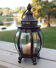 Another great find on #zulily! Hampton Lantern by Marshall Home and Garden #zulilyfinds
