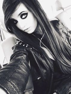Heyyy guys it's Eugenia! (Eugenia Cooney) My best friend is eyeliner <3 | Bands anddd I love making others happy | black is my favorite color