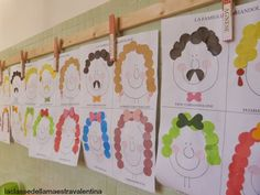 Human Body, Valentino, Children, Baby, Crafts, Faces, Identity, Early Education, Activities