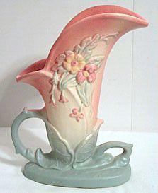 Hull Pottery - Wildflower - W-10 - Vase