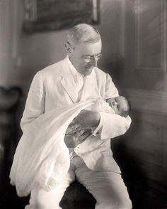 President Woodrow Wilson with daughter Ellen