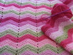 easy crochet blanket for beginners | What a huge difference counting my stitches has made!!!