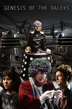 Doctor Who - Genesis of The Daleks by MrGasMaskMan on DeviantArt 4th Doctor, Doctor Who Art, Original Doctor Who, Serie Doctor, Sarah Jane Smith, Doctor Who Companions, Rose Tyler, Dalek, Science Fiction Art