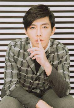 Aaron Yan in the April 2015 issue of Junon. Aaron Yan, Taiwan, Kdrama, Sisters, Handsome, Actors, Celebrities, Dancers, Musicians