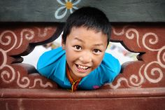 Bhutanese Smile