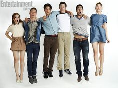 HOLLAND RODEN, COLTON HAYNES, TYLER POSEY, DYLAN O'BRIEN, TYLER HOECHLIN, CRYSTAL REED, Teen Wolf