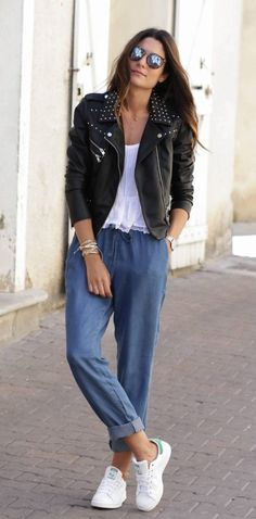 Simply casual look
