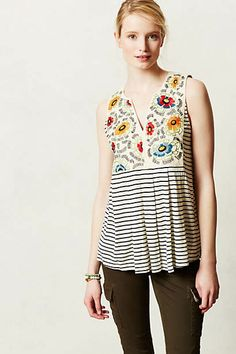 Flower Crown Tank - Anthropologie - can't find/not available?