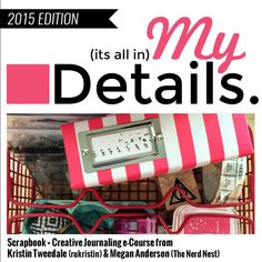 Make sure you are documenting YOU in your scrapbooking with My Details workshop! Your Voice, Project Life, Scrapbooks, Mini Albums, Scrapbook Paper, Storytelling, Finding Yourself, Workshop, Paper Crafts