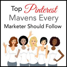 10 Pinterest Mavens Every Marketer Should Follow -- Including tips and how-to's from Top Pinners  http://rebekahradice.com/pinterest-marketers-to-follow/