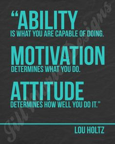 Image result for ability is what you are capable of doing