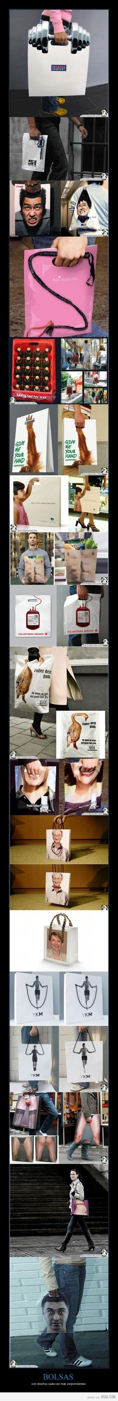 Store Bags- with some hilarious designs