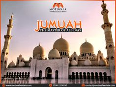 JUMUAH THE MASTER OF ALL DAYS.
