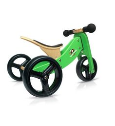 Kinderfeets TinyTot - 2-in-1! Wooden Balance Bike and Tricycle in One fb6dc95ea62c4