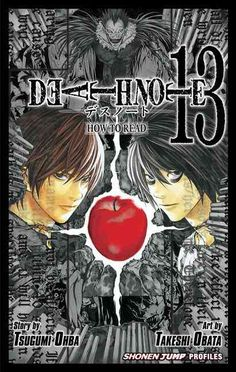 An encyclopedic guide to the Death Note manga series, including character bios, storyline summaries, interviews with creators Tsugumi Ohba and Takeshi Obata, production notes and commentaries, and bon