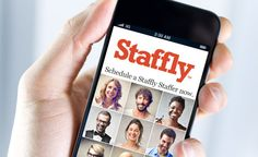 "Staffly ""instantly connects retailers with screened, insured, and trained Staffly™ Staffers through their mobile devices."""