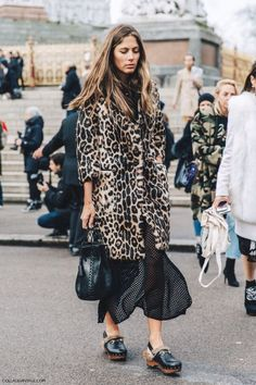 Leopard Print Coat | Street Style #StreetStyle