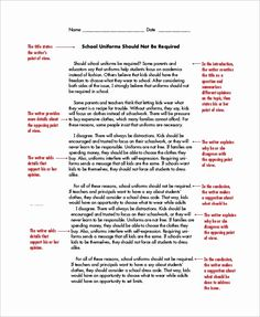 Persuasive Text Examples, Opinion Essay Examples, Letter Writing Examples, Persuasive Essay Outline, Persuasive Letter, Persuasive Essays, Argumentative Essay, Essay Writing Skills, Narrative Writing