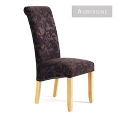 Kingston Floral Oak or Walnut Dining Chair (Various Colours) [SLI_KINGSTON-FLORAL-DC] - £95.00 : Basic Elegance Furnishings Ltd