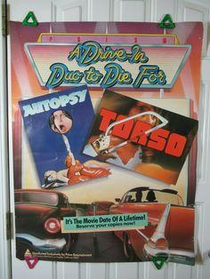 Original vintage poster GP MIAMI RACING BUDWEISER 1984