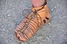 Roman sandal.