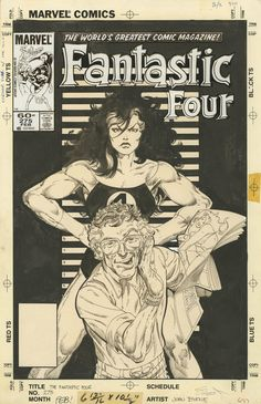 FANTASTIC FOUR #275 COVER BY JOHN BYRNE   http://ebay.to/1MkkL4b