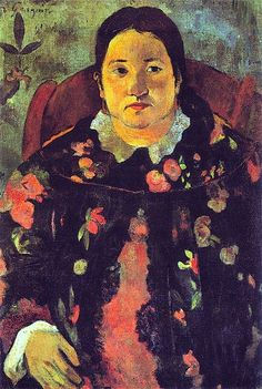 Portrait of Suzanne Bambridge 1891-Gauguin. arriving in Tahiti in June 1891, Gauguin needed to earn some money from portraiture. This was his only commission, the wife of a local dignitary and of English origin. She spoke fluent Maori and introduced Gauguin to the island, its people and customs.
