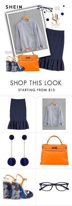 """Muse"" by streetglamour ❤ liked on Polyvore featuring Jonathan Simkhai, Humble Chic, Hermès and EyeBuyDirect.com"