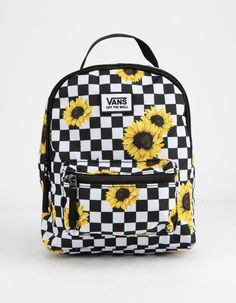 VANS Sunflower Check Mini Backpack Best Picture For japanese Fashion For Your Taste You are looking for something, and it … Mini Backpack Purse, Backpack For Teens, Small Backpack, Travel Backpack, Travel Bags, Fashion Backpack, Cute Backpacks For School, Cute Mini Backpacks, Teen Backpacks
