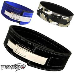 Weight Power Lifting Leather Lever Pro Belt Gym Training Powerlifting #BeSmart