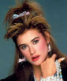 Eighties hair was definitely bigger but we'll let you decide if these styles -- created with a whole lot of hairspray -- were better