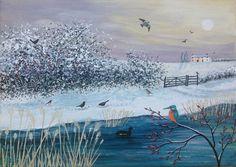 'By Winter Waters' Jo Grundy