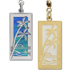 Palm Tree Tropical Ceiling Fan Pulls | Kyle Switch Plates