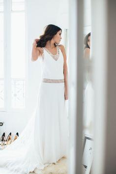 Sophie Sarfati robe de mariee creatrice a Paris - Stylisme La Fiancee du Panda - photos Yann Audic  -shooting ambiance blog mariage-9021