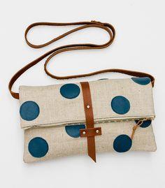 4acfac7d8c611 Sewn polka-dots. How freaking cute.